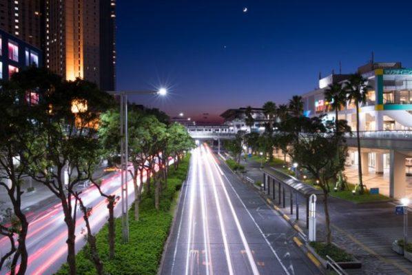 海浜幕張の夜景