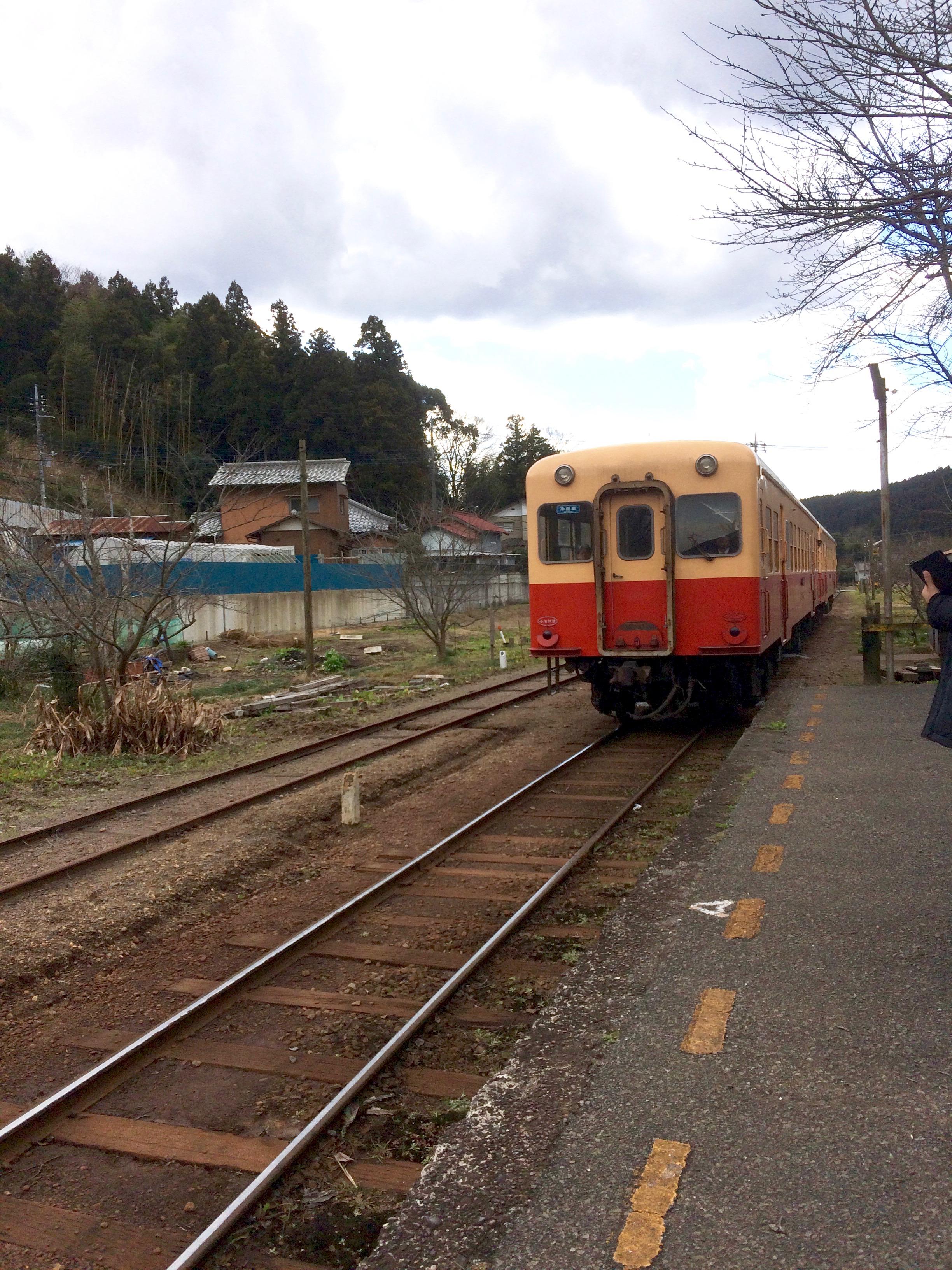 小湊鉄道高滝駅