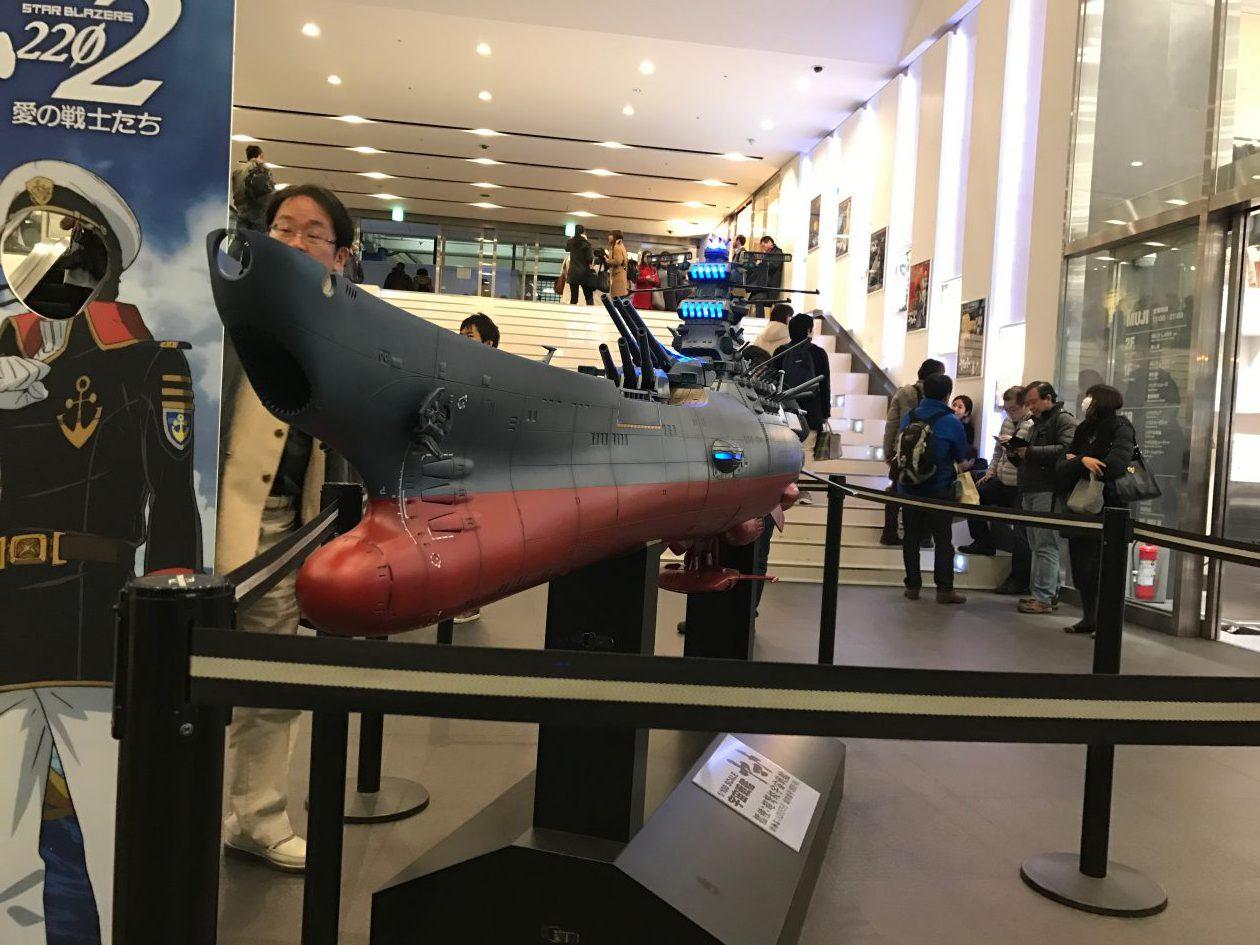 新宿ピカデリー_宇宙戦艦ヤマトの模型