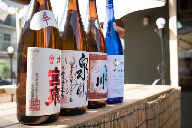 日本酒銘柄4本