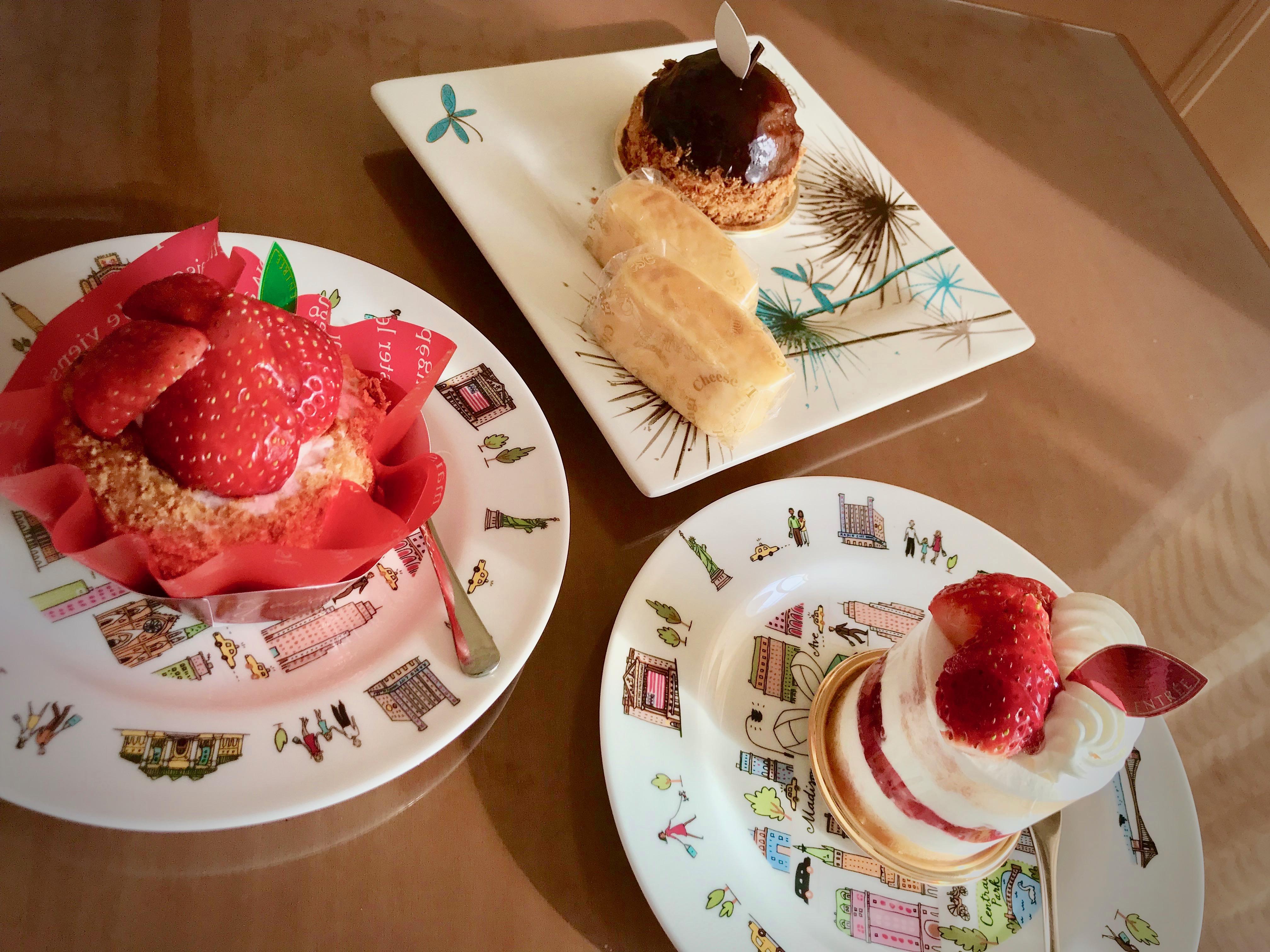 洋菓子店アントレのケーキ