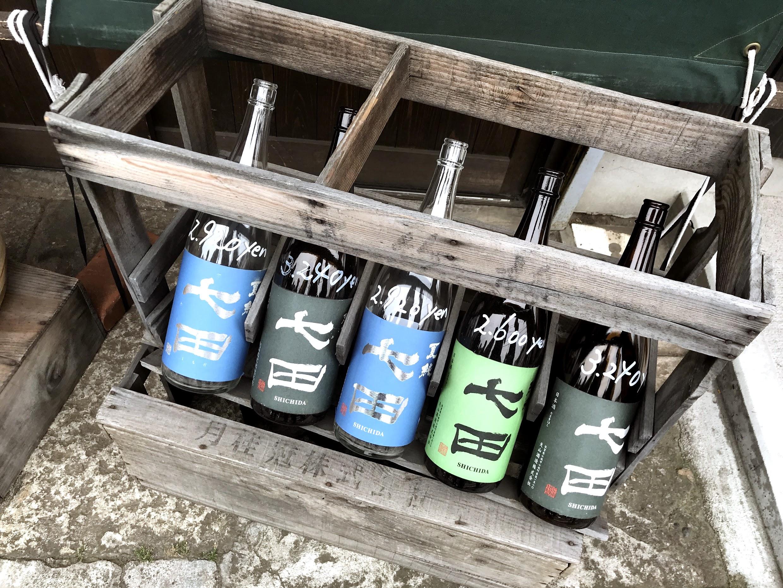 日本酒 七田
