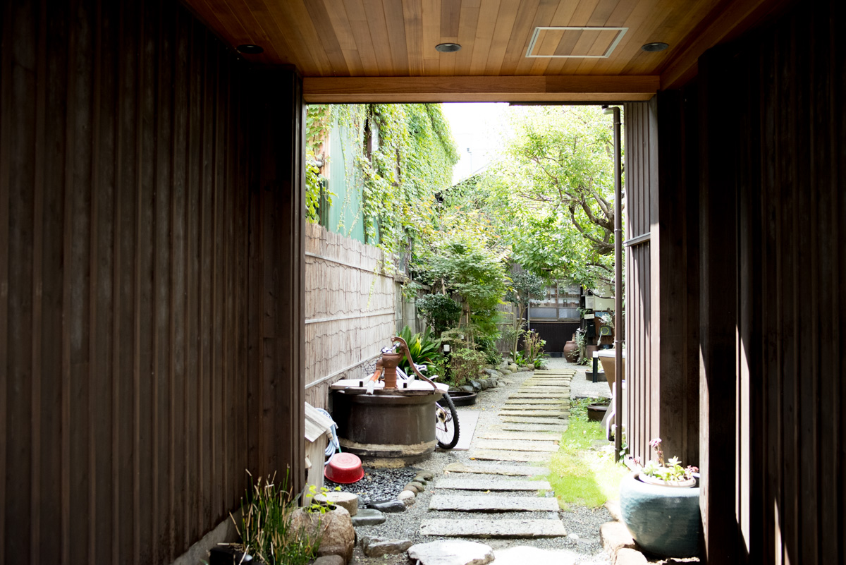 鎌倉そらふねの入り口