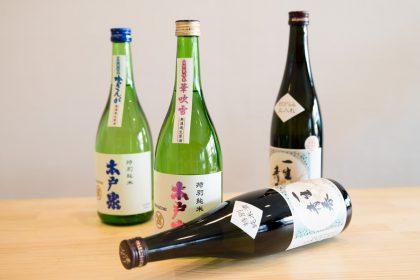 木戸泉酒造と曙酒造の日本酒