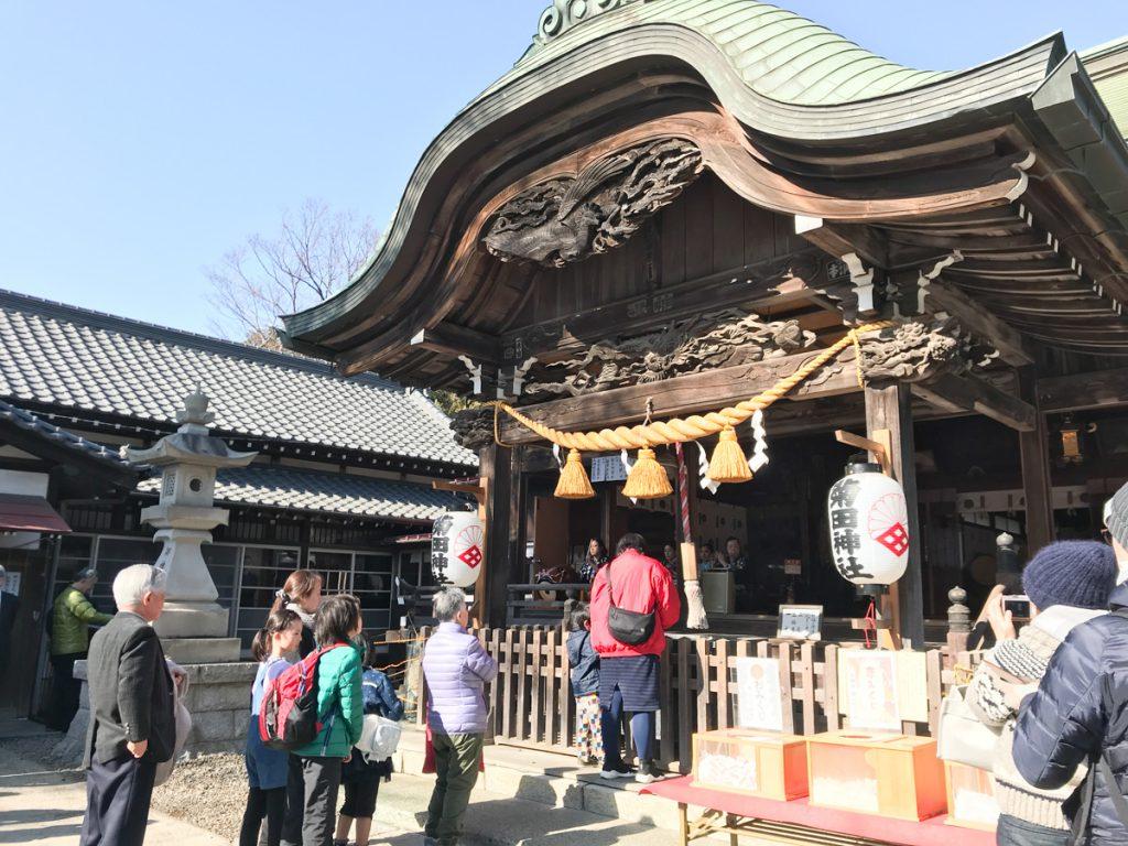 節分祭の菊田神社
