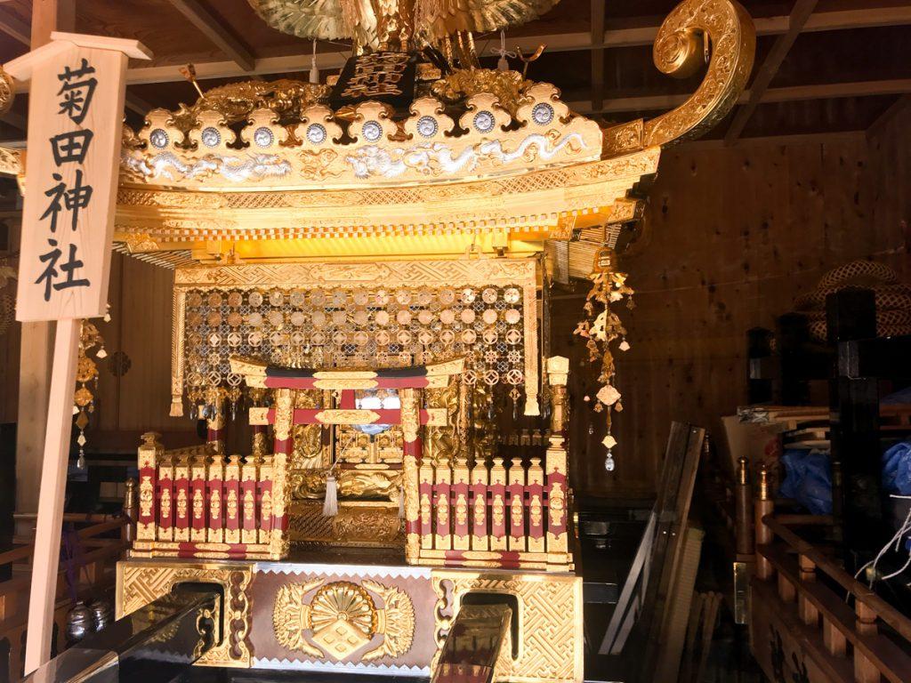 菊田神社のお神輿01