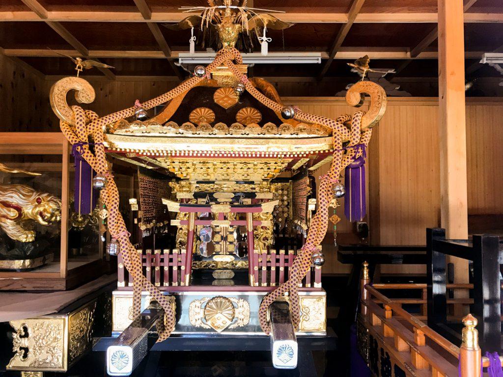 菊田神社のお神輿02