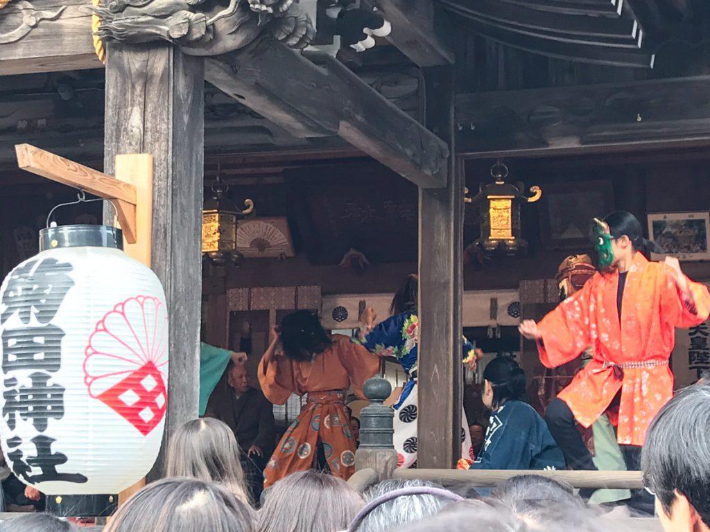 菊田神社節分祭の立ち回り