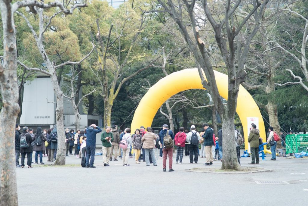 桜ウォーク2019日比谷公園