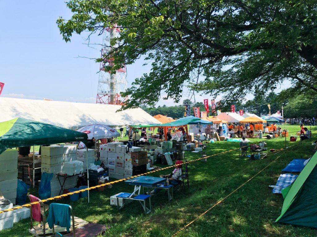 習志野駐屯地夏祭り景観_05